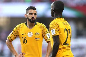 ĐKVĐ Australia bất ngờ thua trận ra quân Asian Cup 2019