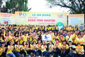 TP Hồ Chí Minh: Hơn 30.000 sinh viên, đoàn viên, thanh niên ra quân Chiến dịch Xuân tình nguyện 2019