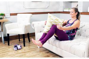 10 phút thể dục đơn giản mà cực hiệu quả ngay trên sofa