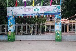 Hủy 3 quyết định bổ nhiệm phó hiệu trưởng trường mầm non ở TP Thanh Hóa
