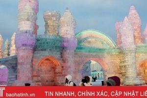Chiêm ngưỡng 'thành phố băng' ở Trung Quốc
