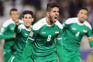 Báo Iraq nói 'may mắn' khi cùng bảng với Việt Nam ở Asian Cup
