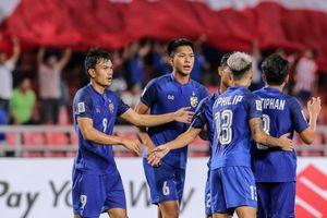 'Messi Thái' nhạt nhòa, đội bóng xứ Chùa Vàng thảm bại trước Ấn Độ