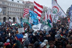 Dòng người biểu tình nhấn chìm Pháp và Hungary