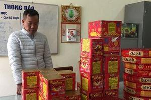 Công an Cao Bằng bắt 1kg ma túy đá và 150kg pháo lậu