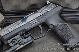 Hé lộ súng lục mới thay thế 'huyền thoại' Makarov của Nga