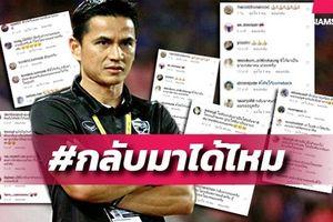 Hàng triệu fan Thái gây áp lực 'đòi' Zico trở lại đội tuyển