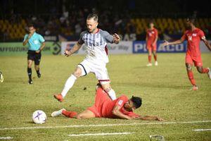 Tiền vệ Philippines cảnh báo tuyển Hàn Quốc trước giờ bóng lăn