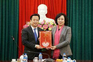 Ông Trần Thế Cương được điều động làm Phó Bí thư Quận ủy Bắc Từ Liêm