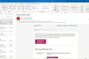 Khắc phục lỗi không đăng nhập được ứng dụng Outlook trên desktop
