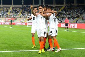 Lập cú đúp hạ Thái Lan, sao Ấn Độ vượt mặt Lionel Messi