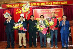 Thành lập Trung tâm Văn hóa, Thể thao và Truyền thông huyện Đô Lương