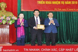 Đảng bộ Hà Tĩnh phát huy vai trò người đứng đầu trong kiểm tra, giám sát