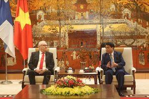 Thúc đẩy quan hệ hợp tác giữa Hà Nội với các địa phương của Phần Lan