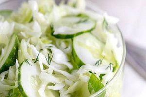 Ăn món salad này mỗi trưa, đến Tết bạn có eo thon mặc áo dài siêu đẹp