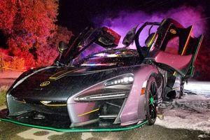 Bí ẩn siêu xe triệu đô McLaren Senna đột ngột bốc cháy