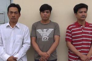 Xóa sổ băng trộm cắp vỏ máy lộng hành ở Kiên Giang