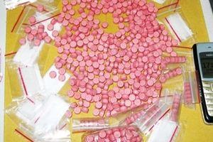 Vận chuyển gần 3.000 viên ma túy trong đêm