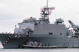 Thông điệp chiến hạm khổng lồ Mỹ tiến vào Biển Đen