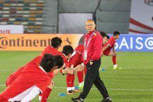 Tuyển Việt Nam sẵn sàng cho trận ra quân Asian Cup