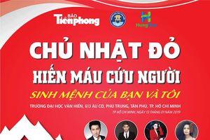 Ca sĩ Tim, Chí Thiện và dàn sao 'khuấy động' Chủ nhật đỏ 2019 ở TPHCM