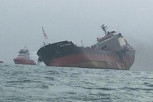 Công ty sở hữu tàu chở dầu bị cháy nổ ở Hồng Kông lên tiếng về sự cố