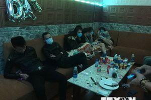 Phát hiện 21 thanh niên dương tính với chất ma túy trong nhà nghỉ