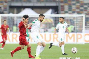 Đội tuyển Việt Nam thua ngược đáng tiếc trước Iraq ở phút 90