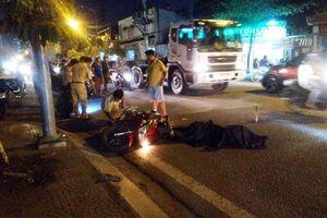 TP.HCM: Tông chết người, tài xế xe container bỏ trốn