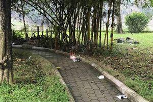 Hà Nội: Điều tra nguyên nhân tử vong bất thường của một phụ nữ tại vườn hoa Hà Đông