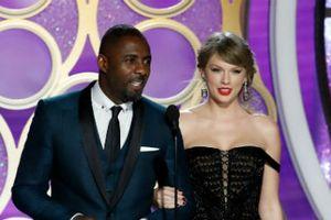 Taylor Swift , Irina Shayk đua váy áp Atelier Versace tại Quả Cầu Vàng 76