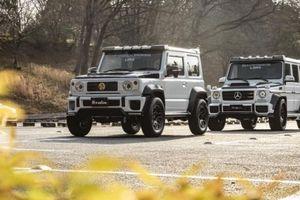 LibertyWalk 'biến' xe bình dân Suzuki Jimny thành Mercedes-Benz G-Class