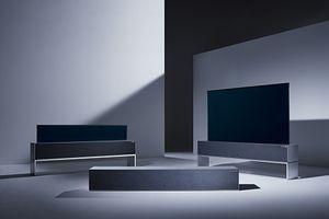 Ra mắt chiếc tivi có thể gập và cuộn đầu tiên trên thế giới