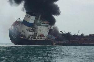 Danh sách 25 thuyền viên Việt Nam trên tàu chở dầu bị bốc cháy ngoài khơi Hồng Kông