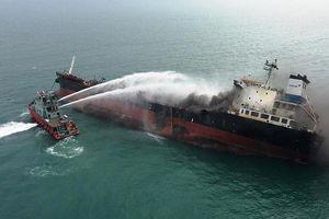 Thông tin mới vụ cháy tàu Việt Nam trên biển Hồng Kông