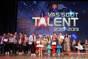 Nâng bước tài năng trẻ với chương trình Vas's Got talent 2018-2019