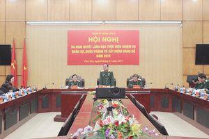Đảng ủy Quân khu 2 ra nghị quyết lãnh đạo thực hiện nhiệm vụ quân sự-quốc phòng và xây dựng Đảng bộ năm 2019