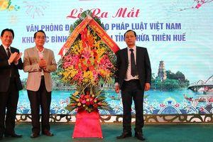 Ra mắt Văn phòng Báo PLVN khu vực Bình Trị Thiên: 'Tờ báo đã hiến nhiều kế hay'
