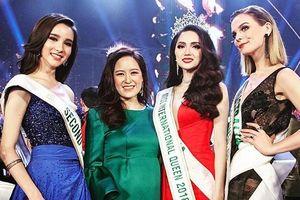 Hoa hậu chuyển giới 'thần tiên tỷ tỷ' của Thái Lan đến Việt Nam