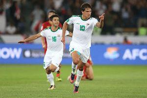 AFC ca ngợi chiến thắng 'giật gân' của đội tuyển Iraq