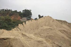 Tuyên Quang: 'Hô biến' Dự án Thủy điện sông Lô 8A thành công trường khai thác cát?