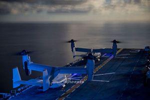 Cận cảnh máy bay đổ bộ 'cực dị' của Thủy quân Lục chiến Mỹ