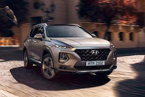 Chi tiết Hyundai Santa Fe 2019 tại Việt Nam
