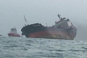 Danh tính thuyền viên thiệt mạng trên tàu dầu bốc cháy ở Hồng Kông