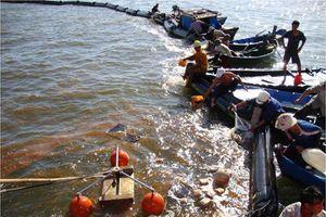 Đã có quy trình khắc phục hậu quả sự cố tràn dầu trên biển