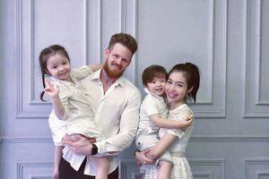 Danh tính bố đẻ của hai con Elly Trần được hé lộ