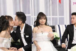Cặp đôi bách hợp Bi Bảo- Múi Xù bất ngờ khóa môi và tiết lộ chuyện đêm tân hôn trên sóng truyền hình