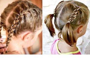 Cách tết tóc đẹp cho bé gái tóc ngắn xinh hơn mỗi ngày