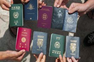 BXH hộ chiếu quyền lực nhất thế giới: Việt Nam xếp sau Lào, Campuchia