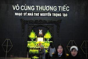 Lưu luyến tiễn biệt Nhà thơ, Nhạc sĩ tài danh Nguyễn Trọng Tạo về với 'Khúc hát sông quê'